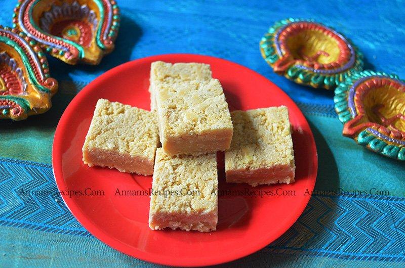 7 cup burfi recipe 7 Cup Cake
