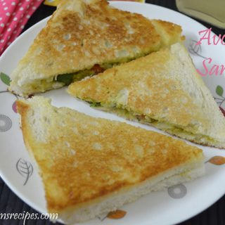 Avocado Sandwich | Avocado Sandwich recipe