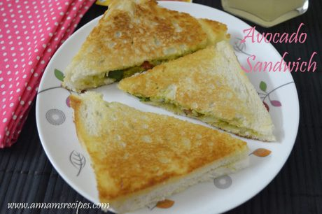 Avocado Sandwich avocado sandwich recipe