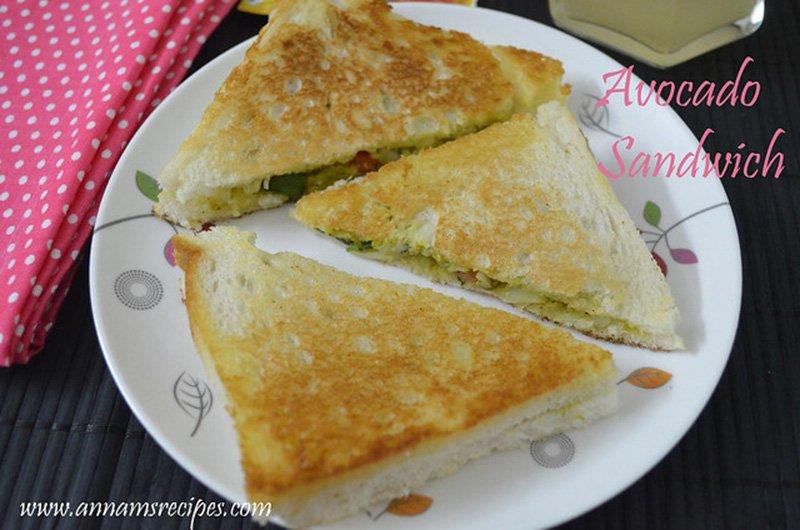 Avocado Sandwich avocado sandwich recipe