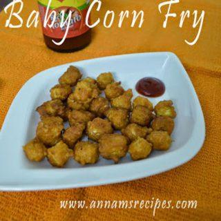 Baby Corn Fry | baby corn fry recipe