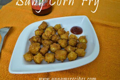 Baby Corn Fry baby corn fry recipe