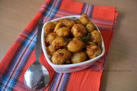Baby Potato curry baby potato curry recipe