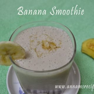 Banana Smoothie | Banana Smoothie recipe