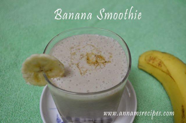 Banana Smoothie Banana Smoothie recipe
