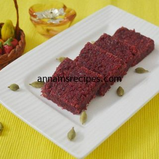 Beetroot Burfi Recipe | Beet Beetroot burfi recipe