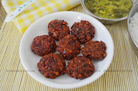 Beetroot Vadai Beetroot Vadai Recipe