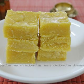 Besan Flour Burfi Recipe | Gram Flour Burfi