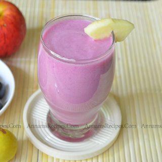 Black Jamun Apple Smoothie | Jamun Apple Smoothie