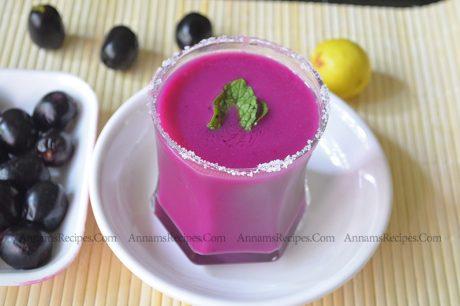 Black Jamun Juice jamun black plum juice