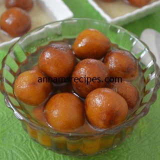 Bread Gulab Jamun recipe at home | Bread Gulab Jamun recipe
