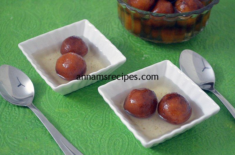 Bread Gulab Jamun recipe at home Bread Gulab Jamun recipe