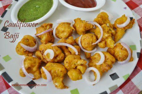 Cauliflower Bajji cauliflower bajji recipe