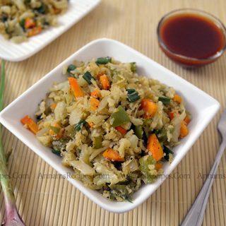 Cauliflower Fried Rice | Cauliflower Fried Rice | Paleo Recipe