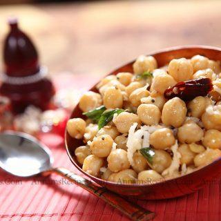 Channa Sundal | Channa Sundal Recipe
