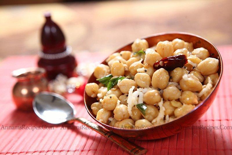 Channa Sundal Channa Sundal Recipe