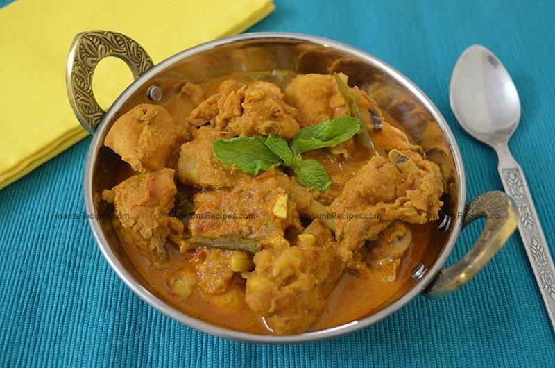Chettinad Chicken Gravy Chettinad Chicken Curry Recipe