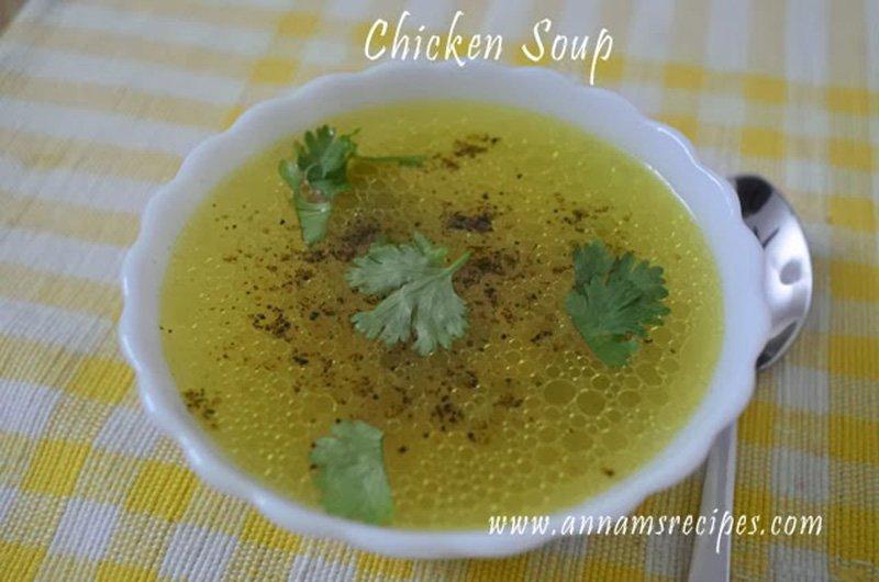 Chettinad Chicken Soup chettinad style chicken soup