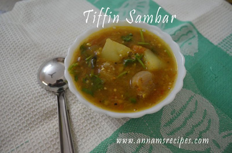 Chettinad Idli Sambar recipe Breakfast Sambar Tiffin Sambar