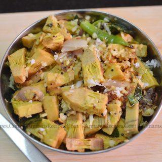 Chettinad Palakkai Poriyal | palakkai poriyal recipe