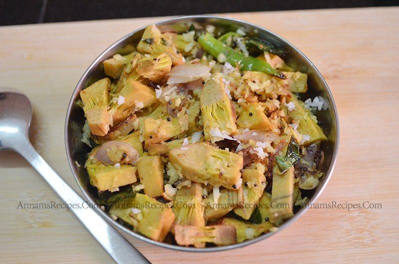 Chettinad Palakkai Poriyal palakkai poriyal recipe