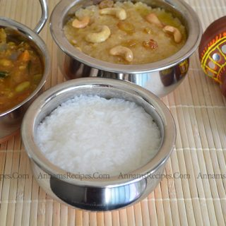 Chettinad Rice Pongal | Chettinad Pongal Recipe