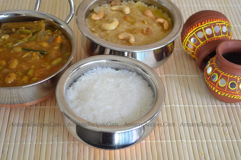 Chettinad Rice Pongal chettinad pongal recipe