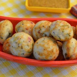 Kuzhi Paniyaram recipe | Chettinad Kuzhi Paniyaram