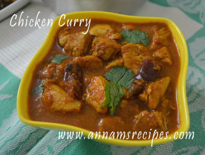 Chicken Curry Recipe Spicy Chicken Curry