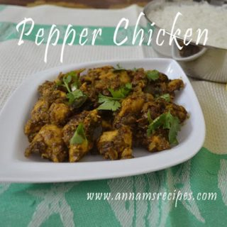 Chicken Pepper Fry | Chicken Pepper Roast