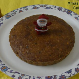 Christmas Plum Cake Recipe | Christmas Plum Cake