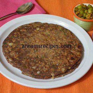 Easy Ragi Aloo Paratha | Ragi Aloo Paratha recipe