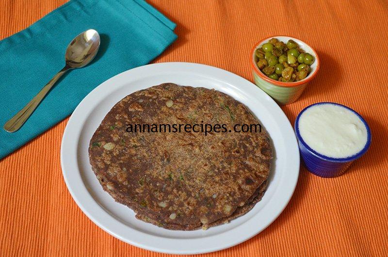 Easy Ragi Aloo Paratha Ragi Aloo Paratha recipe