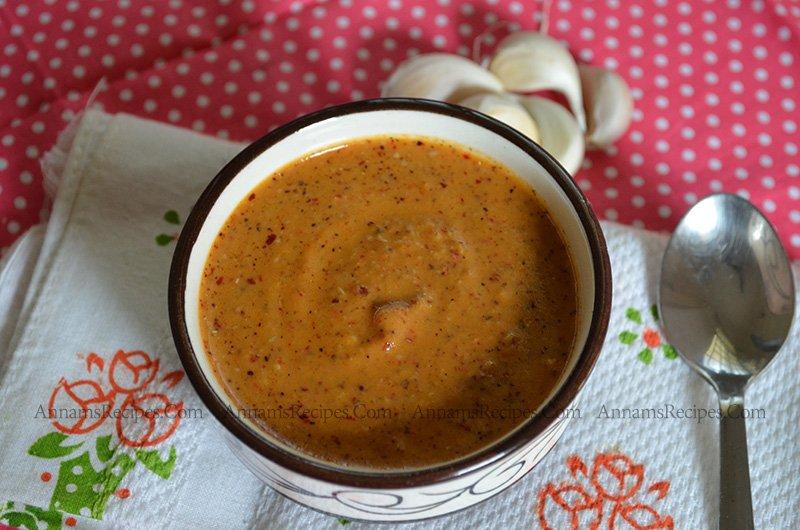 Garlic Chutney Garlic Chutney Recipe