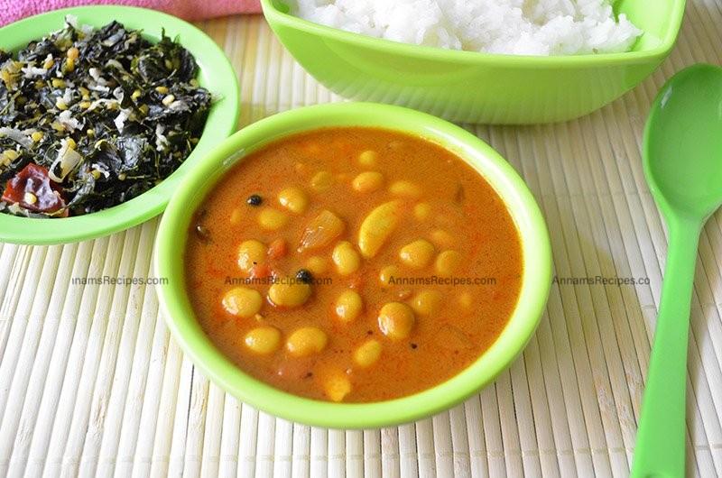 How to do Mochai Kuzhambu Mochai Kulambu Recipe