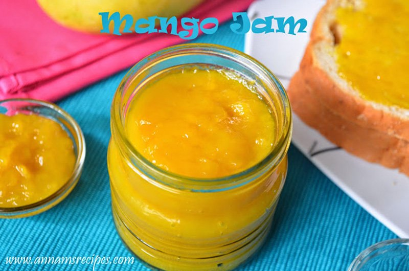 How to make Mango Jam recipe Mango Jam