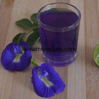 Indian Blue Tea Recipe | Butterfly Pea Tea