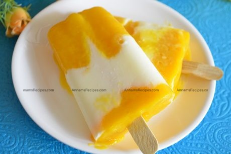 Mango Yogurt Popsicle Mango Yogurt recipe
