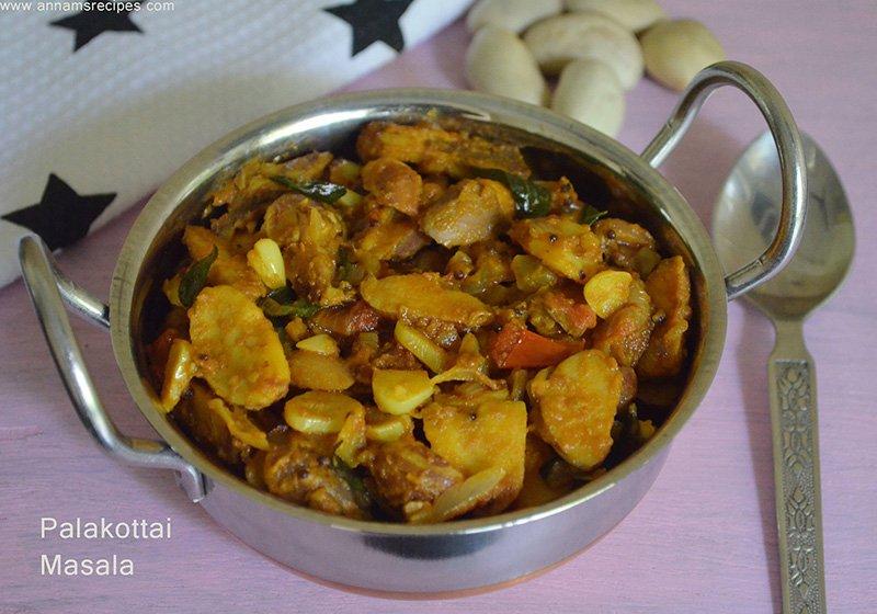Palakottai Curry Recipe Palakottai Poriyal