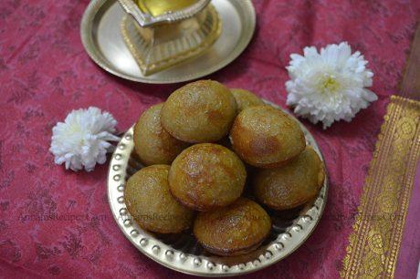 Sweet Kuzhi Paniyaram Recipe Sweet Kuzhi Paniyaram