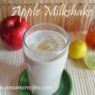 Apple Milkshake recipe | Apple Milkshake