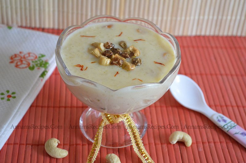 Arisi Payasam recipe Rice Payasam recipe