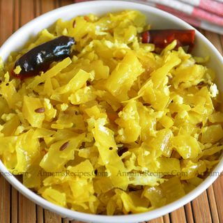 Cabbage Thoran | Cabbage Poriyal recipe
