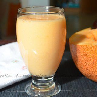 Cantaloupe Juice recipe |  Muskmelon Juice