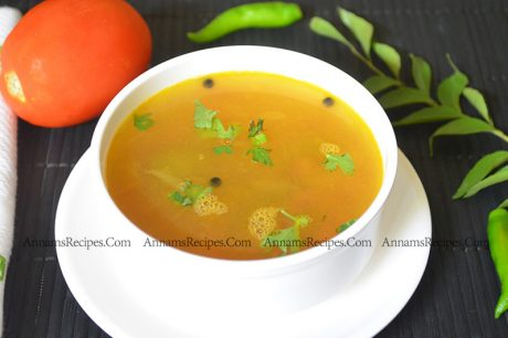 Chettinad Thakkali Soup Chettinad Tomato Soup