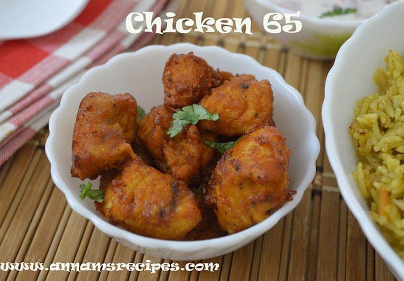 chicken 65 recipe softchicken 65