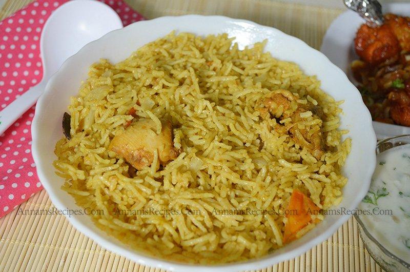 chicken biryani recipe south indian chicken biryani recipe