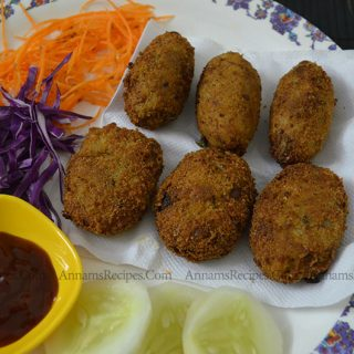 Chicken Cutlet Recipe | Chicken Cutlet Recipe Indian