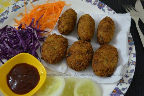 chicken cutlet recipe chicken cutlet recipe Indian