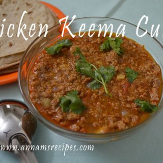 Chicken Keema Curry Recipe | Chicken Keema Curry
